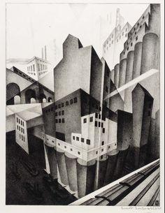 Louis Lozowick - Minneapolis (1925)