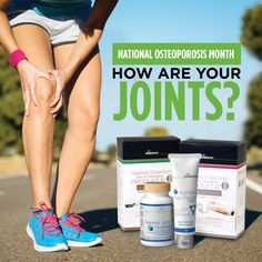 october is national osteoporosis month learn how an isagenix routine can help you with prevention