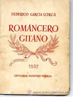 Romancero Gitano by thecHreat Federico Garcia Lorca