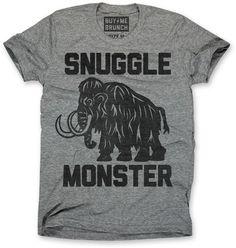 Snuggle Monster t-shirt, $25