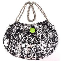 One-of-a-Kind #Vintage Fabric #Handbag.