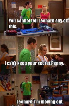 Big Bang Theory Quotes, Big Bang Theory Funny, Tv Quotes, Funny Quotes, Penny And Sheldon, The Big Band Theory, Series Movies, Tv Series, Himym