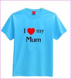 I love my Mum T-shirt (children's) I Love My Mum, Childrens Gifts, Sleep, Handmade Gifts, Lady, Mens Tops, T Shirt, Stuff To Buy, Kid Craft Gifts