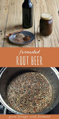 Root Beer Learn how to make delicious homemade fermented root beer. Made with real roots and herb and a ginger bug for fermentation!Learn how to make delicious homemade fermented root beer. Made with real roots and herb and a ginger bug for fermentation! Superfood, Healthy Drinks, Healthy Recipes, Healthy Food, Nutrition Drinks, Ginger Bug, Fermentation Recipes, Homebrew Recipes, Fermented Foods