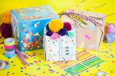 milk, chai & honey   hipster gift wrapping