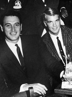 Rock Hudson's 'True Love' Speaks: How We Kept Our Gay Life Secret Rock Hudson (left) and Lee Garlington in New Orleans ca. Hollywood Stars, Classic Hollywood, Old Hollywood, Divas, Guy Madison, Rock Hudson, Romance, Cute Gay, Gay Couple