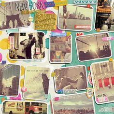 photo collage + travel