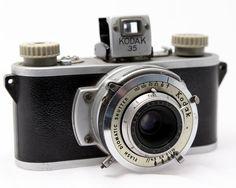 35Mm Camera | Vintage 35mm Camera KODAK 35 Rare transitional by OldieCameras