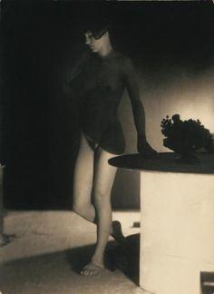 František Drtikol. Étude de nu 1929 Ervina Kupferova
