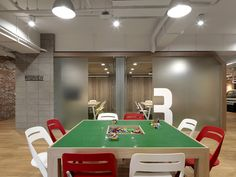 iDA Workplace + Strategy has developed the new offices of mobile app company LINE located in Taipei, Taiwan.