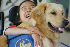 A girl and her service dog: Canine Companions for Independence