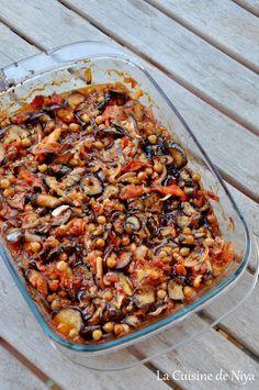 La Cuisine de Niya - Moussaka Libanaise - vegan - The Best Dishes Moussaka Vegan, Healthy Breakfast Recipes, Healthy Dinner Recipes, Veggie Recipes, Vegetarian Recipes, Cabbage Soup Recipes, Vegan Vegetarian, Plat Vegan, Lebanese Recipes