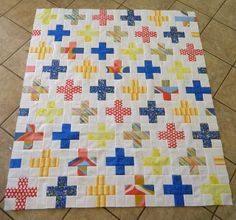 plus quilt, easier version, not interlocking