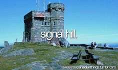 Awesome Canadian Things Signal Hill, Canadian Things, True North, Mount Rushmore, Places To Visit, Canada, Strong, Lol, Awesome