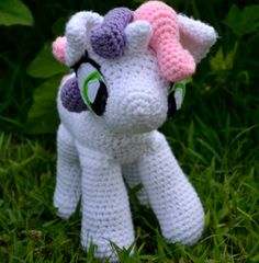 Sweetie Belle Amigurumi My Little Pony