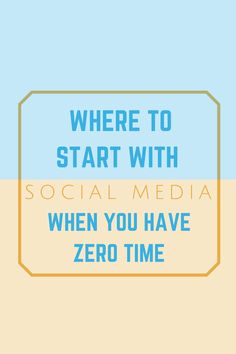 Not sure where to start with social media for your business? This blog post gives tips on exactly where to get started!