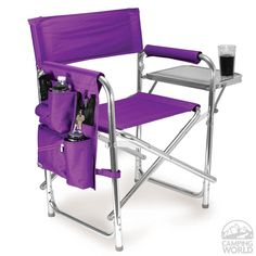 Merveilleux Sports Chair  Purple