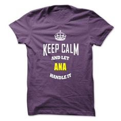 Keep Caml And Let ANA Handle It - #money gift #gift amor. LIMITED TIME => https://www.sunfrog.com/No-Category/Keep-Caml-And-Let-ANA-Handle-It.html?68278