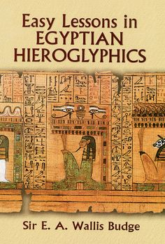 2 types of egyptian writing and art