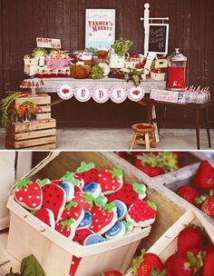 Vintage+Farmer's+Market+Birthday+Party