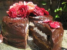 """Bar One Chocolate Cake      """"A Bar One cake is more than a chocolate cake. It oozes """"Bar One"""" in     every mouthful and exudes decadence as well as deliciously over-the-top     richness which promise to meet the most avid chocoholic's craving.""""  — Jackie Cameron  BAR ONE CHOCOLATE CAKE  Yi"""
