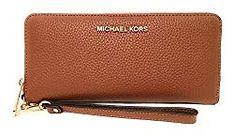 Michael Kors Jet Set Women's Leather Travel Continental Wristlet Wallet Leather Gifts For Her, Michael Kors Jet Set, Zip Around Wallet, Wallets, Bags, Women, Handbags, Purses, Bag