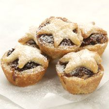 Mincemeat tarts. A Christmas favorite at our home.