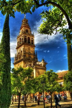 Cordoba, Spain ....reminds me a little of Balboa Park in San Diego