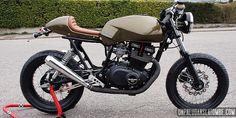 DIY Suzuki GSX400 Cafe-racer