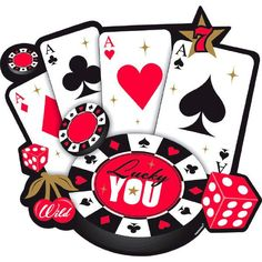 """Place Your Bets Cutout, 10.6"""""""" x 11.1""""""""   1 ct"""
