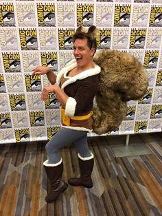 Squirrel Girl as John Barrowman and Comic-Con, 2016