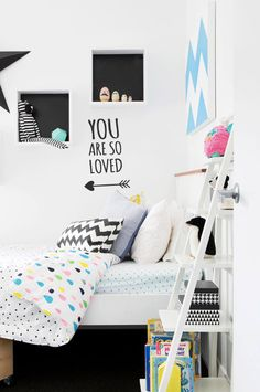 So Loved Wall Decals, Toddler Bed, Range, Love, Furniture, Home Decor, Child Bed, Amor, Cookers
