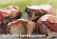 Grillatut herkkusienet #kauppahalli24 #ruoka #resepti #herkkusienet Baked Potato, Potatoes, Baking, Ethnic Recipes, Food, Potato, Bakken, Essen, Meals