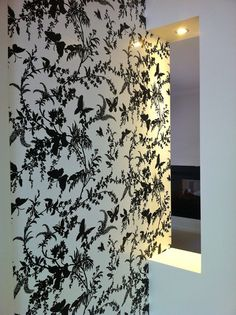 Florence Broadhurst - Tropical Floral FBW-FL18 - Flora Collection | Removable Wallpaper Australia