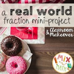 An adding and subtracting fractions with unlike denominators project where students prepare to host a cooking show to share their favorite dessert (classroom-friendly recipe included)! 5.NF.1 & 5.NF.2