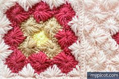MyPicot | Free crochet patterns join as you go motifs