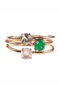 cute stacking rings...