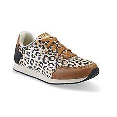Everlast® Sport Women's Eve Brooklyn Tan/Leopard Print Athletic Shoe