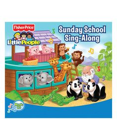 Look at this Fisher-Price Sunday School Sing-Along CD on #zulily today!