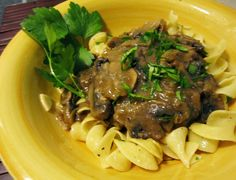 Frugal In Florida: Chopped Steaks with Mushroom Gravy