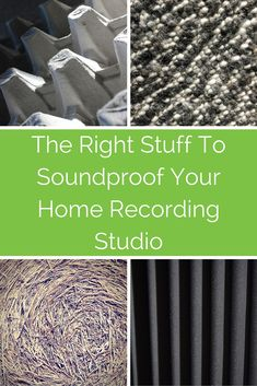 What is the best material to use if you want to soundproof your home recording studio? In this article we explode a few myths, and examine which materials might work best so you don't annoy the neighbours.