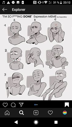 Drawing Body Poses, Drawing Reference Poses, Drawing Techniques, Drawing Tips, Drawing Face Expressions, Art Prompts, Art Poses, Drawing Base, Drawing Challenge