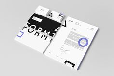 Formt Identity by Joost Huver, via Behance