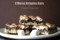 S'Mores Krispies Bars