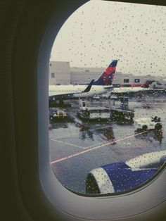 The best feeling in the world is sitting on that plane.. waiting to take off and leave it all behind.