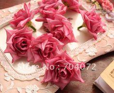 decorazioni di casa fiori simulazione /lotto mini rosa seta artificiale flusso di nozze rossoall'ingrosso