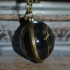 Items similar to Midnight Wishes: Real Dandelion Seed Resin Spherical pendant on a bronze setting - Childhood Memories on Etsy Resin Jewellery, Botanical Flowers, Dandelion, Seeds, Pearl Earrings, Unique Jewelry, Handmade Gifts, Etsy, Vintage