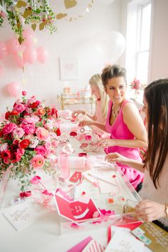 Photography : Abby Jiu Photography Read More on SMP: http://www.stylemepretty.com/living/2015/02/11/a-galentines-soiree/