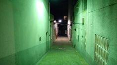 El misterioso callejón verde