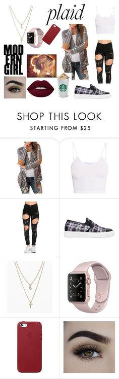 """""""Autumn Love"""" by raeghanec on Polyvore featuring BasicGrey, Mother of Pearl, LOFT and Apple"""